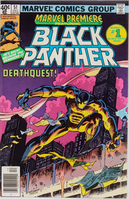 Marvel Premiere #51: Continues story from 1977 Black Panther series. Click for values