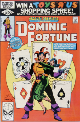 Marvel Premiere #56 (October, 1980): Dominic Fortune. Click for value