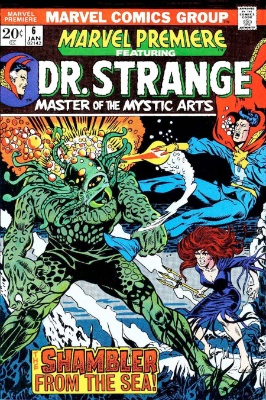 Marvel Premiere #6 (January, 1973): Dr. Strange. Click for values