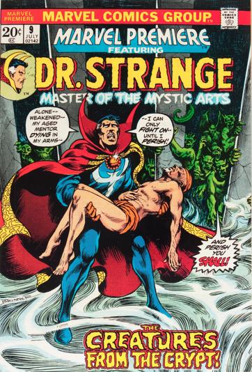 Marvel Premiere #9 (July, 1973) : Dr. Strange. Click for value