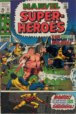 Marvel Super-Heroes #22. Click for values