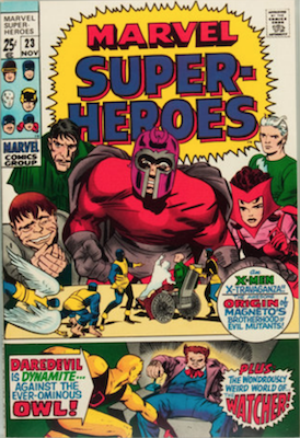 Marvel Super-Heroes #23. Click for values