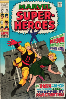 Marvel Super-Heroes #24. Click for values