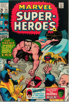 Marvel Super-Heroes #25. Click for values