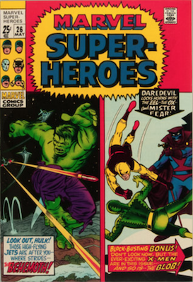 Marvel Super-Heroes #26. Click for values