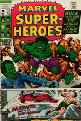 Marvel Super-Heroes #27. Click for values