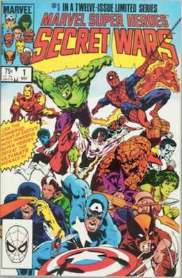 Marvel Super-Heroes Secret Wars #1. Click for values