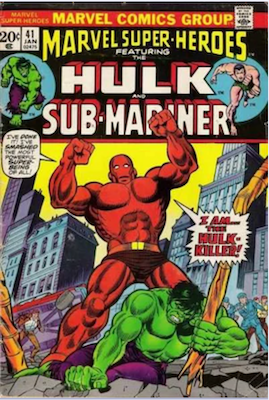 Marvel Super-Heroes #41. Click for values