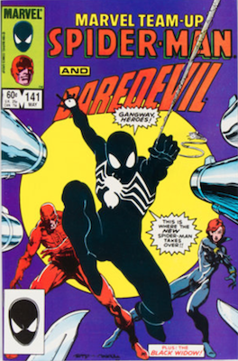 Marvel Team-Up #141: Ties for First Symbiote. Regular edition. Click for values