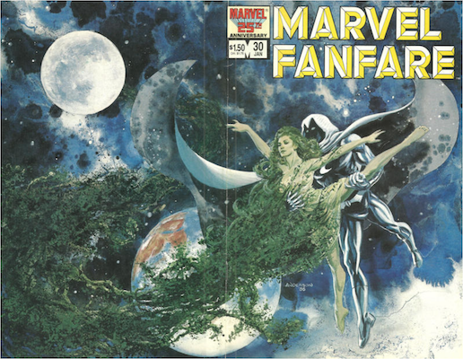 Marvel Fanfare #30. Click for values.