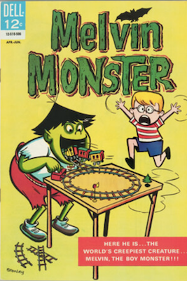 Melvin Monster #1 (1969). Click for values
