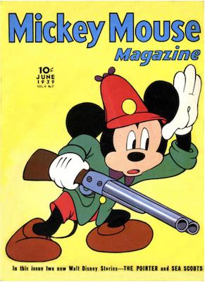 Mickey Mouse Magazine v4 #9. Click for values.