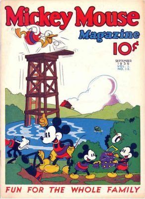 Mickey Mouse Magazine v1 #12. Click for values.
