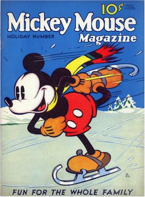 Mickey Mouse Magazine v1 #4. Click for values.