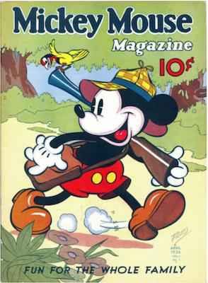 Mickey Mouse Magazine v1 #7. Click for values.