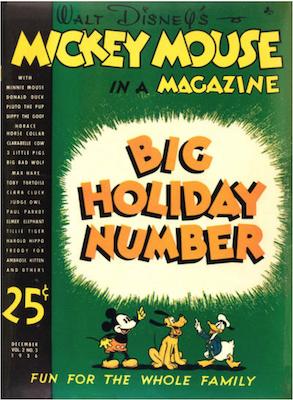 Mickey Mouse Magazine v2 #3. Click for values.