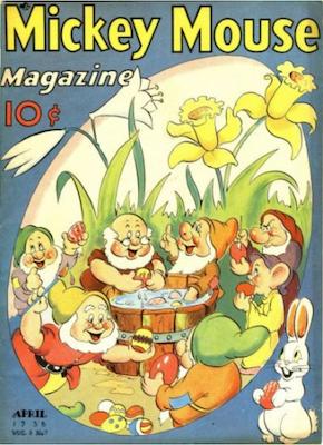 Mickey Mouse Magazine v3 #7. Click for values.