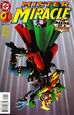 Mr Miracle Comics #1 Volume 3 (1996 series). Click for values