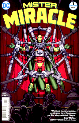 Mr Miracle Comics #1 Volume 4 (2017 series). Click for values