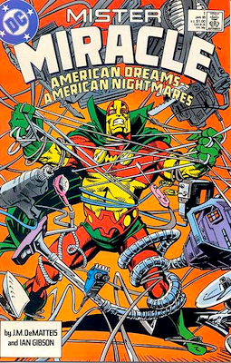 Mr Miracle Comics #1 Volume 2 (1989 series). Click for values