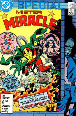 Mister Miracle Comics Special #1 (1987). Click for values