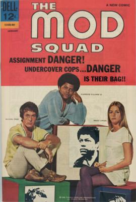 Mod Squad #1 (1969). Dell Comics. Click for values