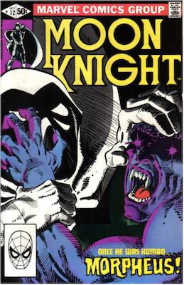 Moon Knight #12. Click for values.