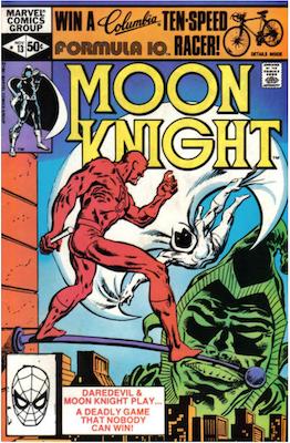 Moon Knight #13. Click for values.