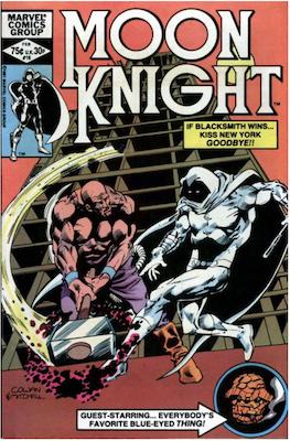 Moon Knight #16. Click for values.