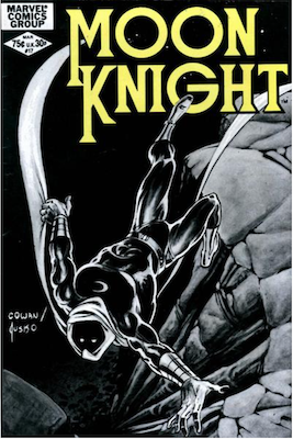 Moon Knight #17. Click for values.
