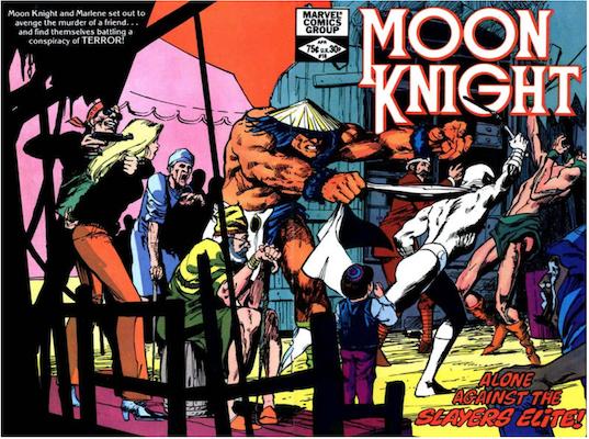 Moon Knight #18. Click for values.