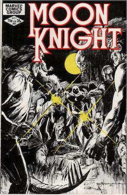 Moon Knight #21. Click for values.