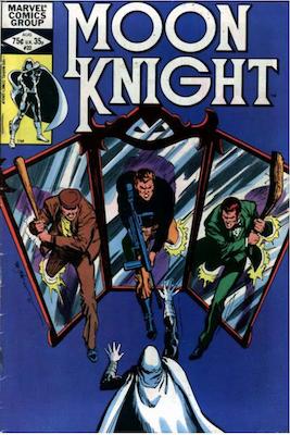 Moon Knight #22. Click for values.
