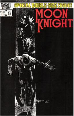 Moon Knight #25. Click for values.