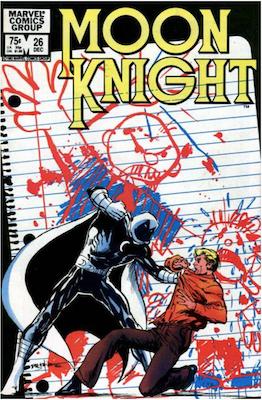 Moon Knight #26. Click for values.