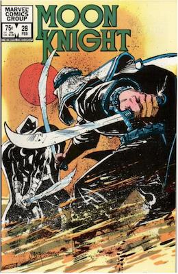Moon Knight #28. Click for values.