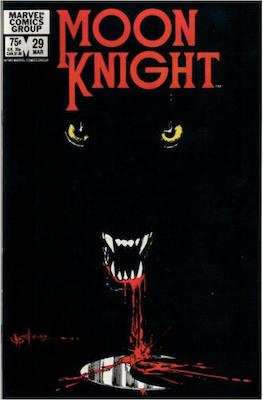 Moon Knight #29. Click for values.