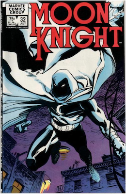 Moon Knight #32. Click for values.