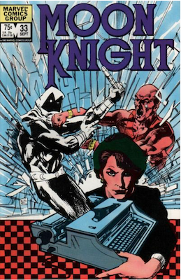 Moon Knight #33. Click for values.