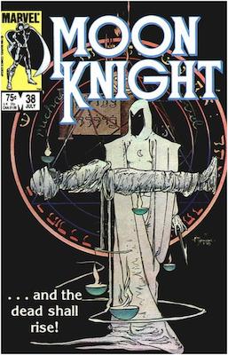 Moon Knight #38. Click for values.