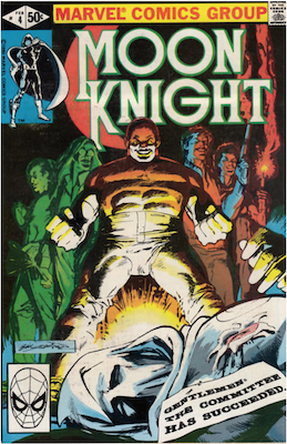 Moon Knight #4. Click for values.