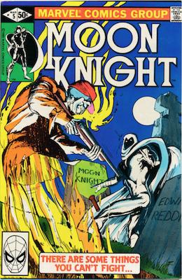 Moon Knight #5. Click for values.
