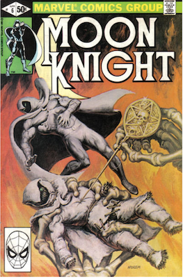 Moon Knight #6. Click for values.