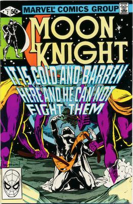 Moon Knight #7. Click for values.