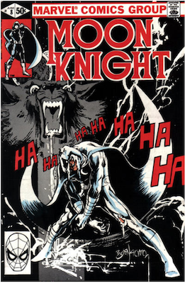 Moon Knight #8. Click for values.