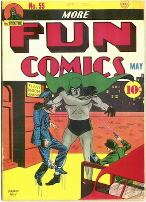 More Fun Comics #55: First appearance of Doctor Fate. Click for values
