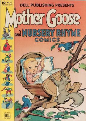 Mother Goose: Four Color #41 (1944). Click for values
