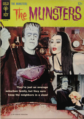 The Munsters #1 (1965), Gold Key. Click for values