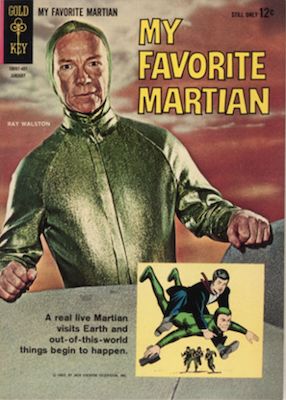 My Favorite Martian #1 (1964), Gold Key. Click for values
