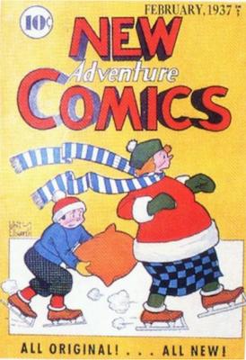 New Adventure Comics #13. Click for values.